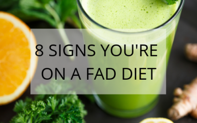 8 Signs You're on a Fad Diet